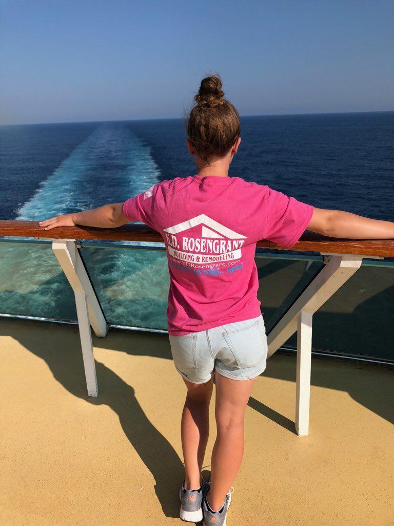 T-Shirt on Cruise